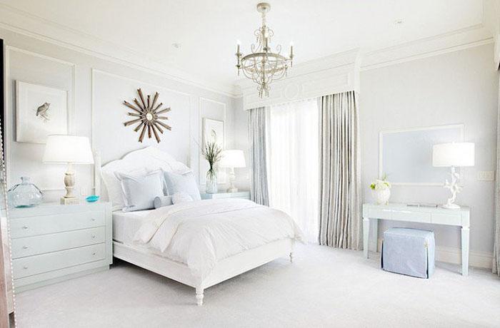 bembeyaz yatak odası modelleri