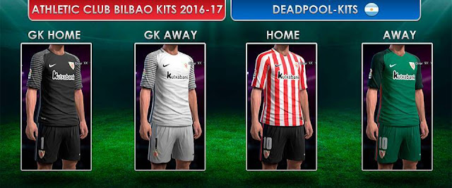 PES 2013 Athletic Bilbao Kit Season 2016-2017