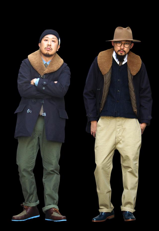 "Nigel Cabourn ""Great Clip Coat"" size 48 79,920yen"