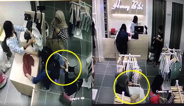 """""""2 perempuan Melayu bertudung curi telefon kami"""" - Mangsa"""