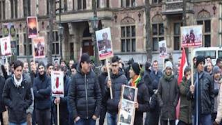 احتجاجات في هولندا ضد جرائم المملكة العربية السعودية في اليمن