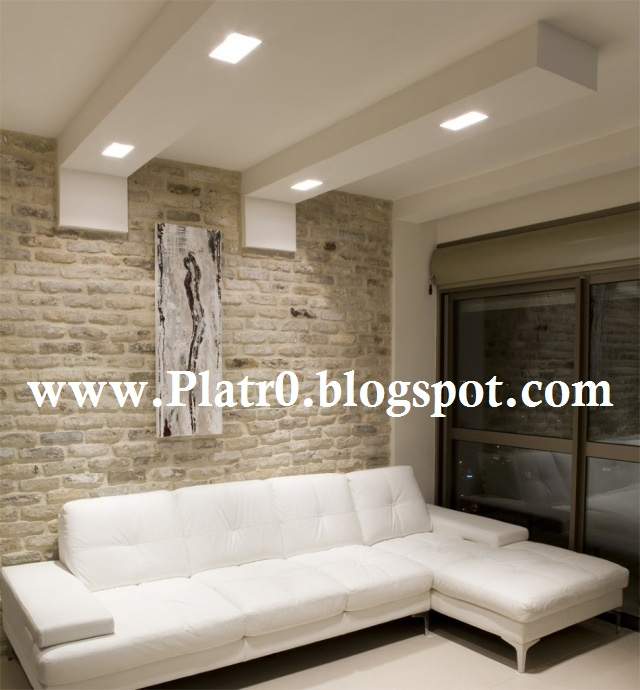 Decoration Platre Plafond Simple