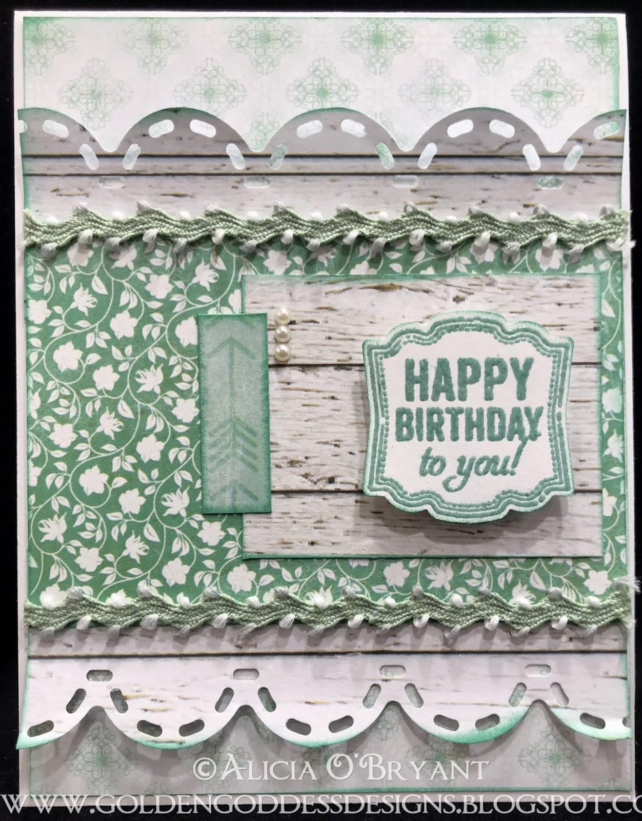 Golden Goddess Designs Quick Quotes Farmhouse Birthday Card