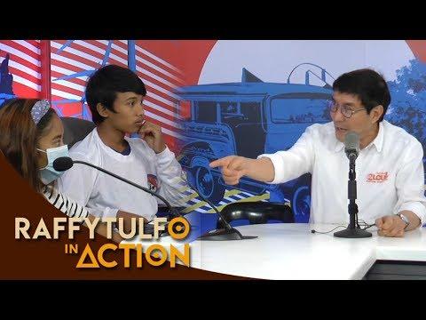 MGA BATANG PASAWAY, NAKATIKIM NG SERMON KAY IDOL! | Raffy Tulfo in Action