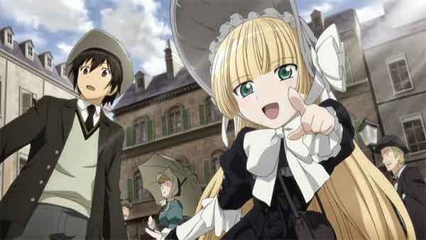 gosick - anime romance yang ada misterinya