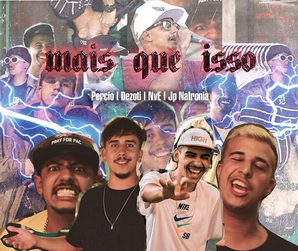 """Assista """"Mais que Isso"""", clipe colaborativo de Percio, Dezoti, NvE e JP"""