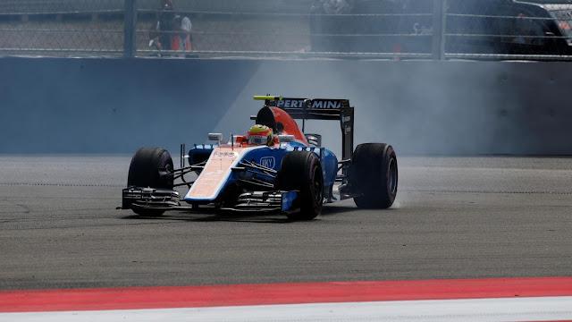 Rio Salah menggunakan Ban di Latihan Bebas GP F1 Ausria
