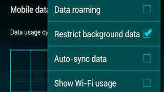 How Restrictions Your Android Background Data And limit Use Mega - byte