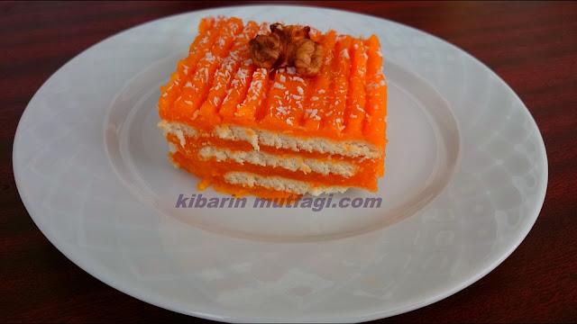 Bisküvili havuç tatlısı tarifi havuçlu rüya tatlısı nasıl yapılır