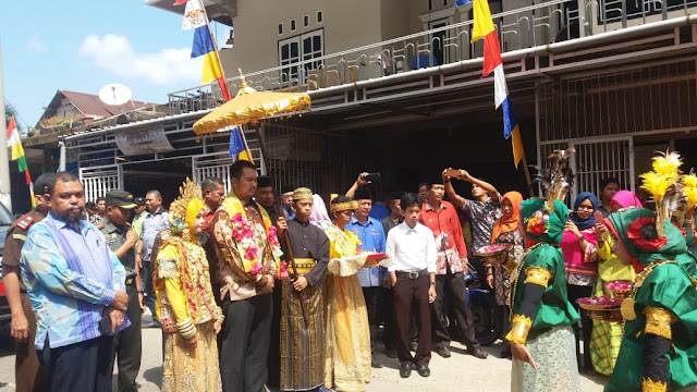Bupati Sinjai Lakukan Peletakan Batu Pertama Pembangunan Pasar Desa Gantarang
