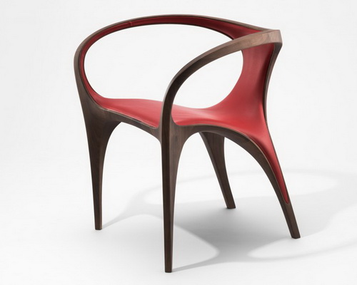 Tinuku Final collection UltraStellar table Zaha Hadid for David Gill Gallery London