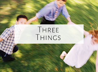 Three Things {Grizzly Bear, Loud and Quiet, and a Picture Book}