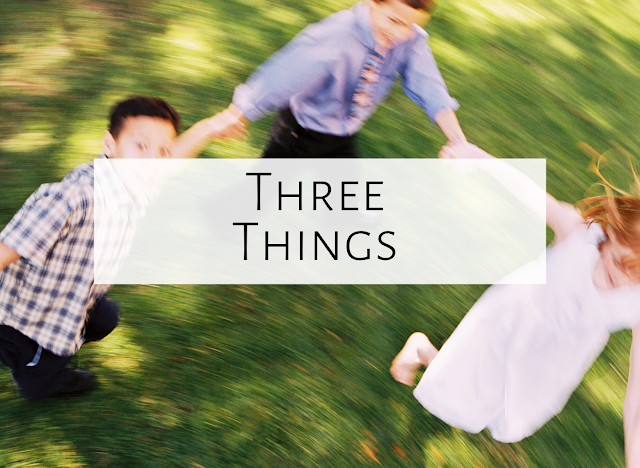 Three Things {Kindergarten movement, a book, and a dance!}