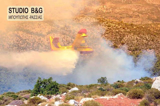 Μεγάλη πυρκαγιά στην Ορεινή Κυνουρία