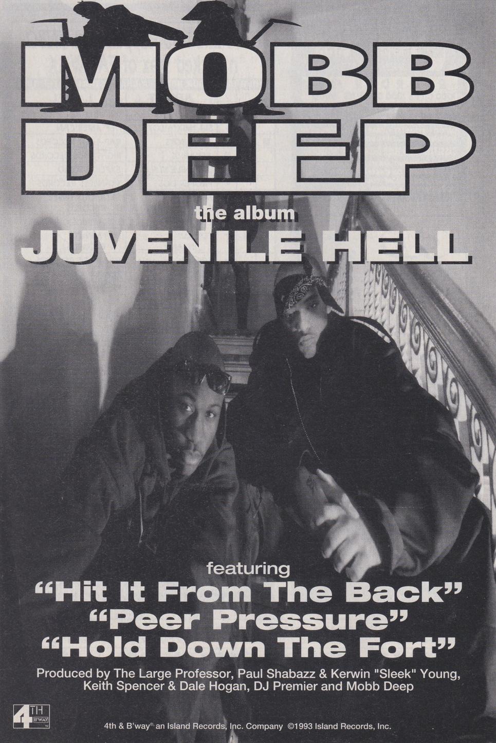 """Mobb Deep Juvenile Hell Prodigy Havoc Advertisement """"Hip-Hop Nostalgia"""""""