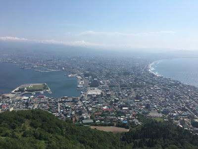 函館の朝景色