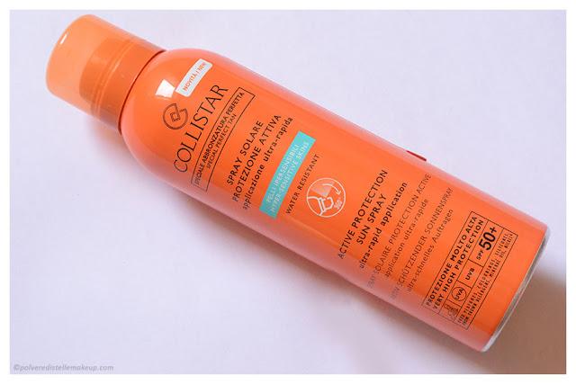 Collistar Spray Solare Protezione Attiva SPF 50