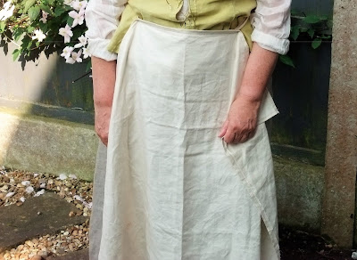 Medieval Me - Upcycled 1500 Working Woman Costume Project by Karen Vallerius