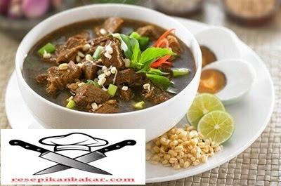 resep rawon daging sapi, resep rawon daging sapi khas jawa timur, resep rawon daging sapi jawa timur