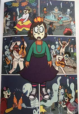 Dia de Los Muertos in Ghosts by Raina Telgemeier