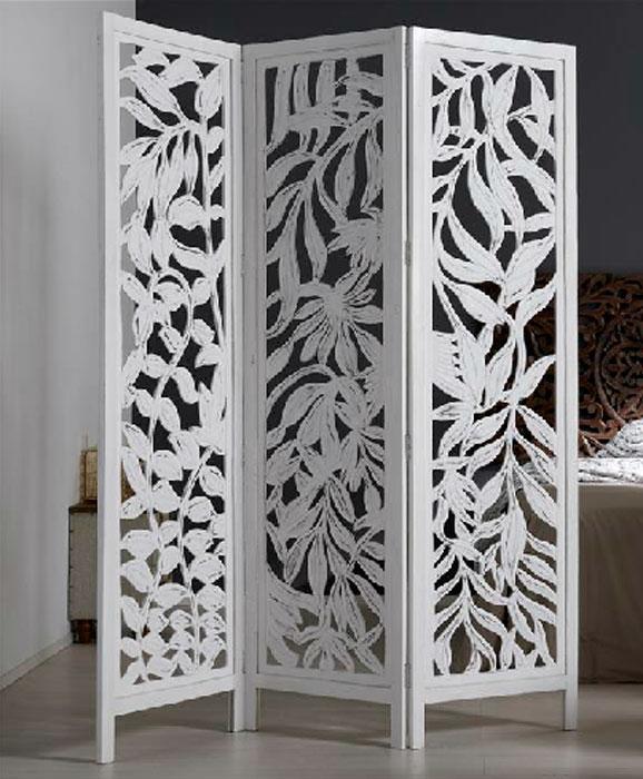 Kasa 39 s decoraci n biombos separadores de espacios - Biombos de madera ...