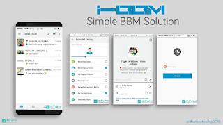 BBM Mod Style Theme iPhone Versi 2.11.0.16 [i-BBM]