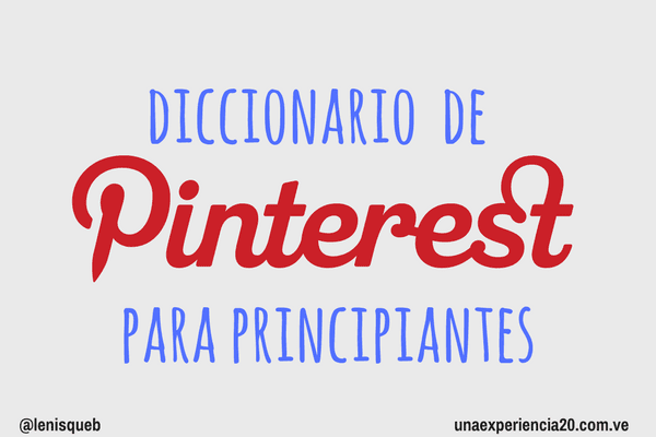 Diccionario-Pinterest