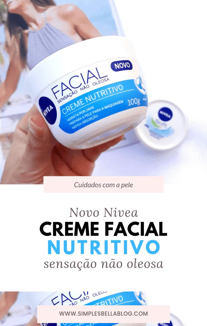 Nivea Facial Creme Nutritivo Resenha