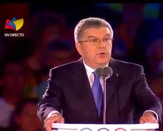El error de traducción de Tves durante la inauguración de las olimpiadas (+Video)