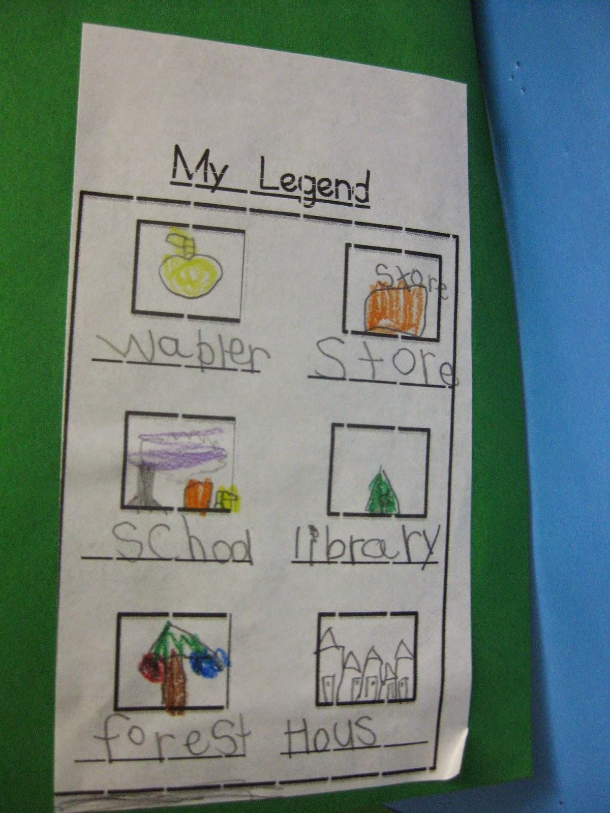 Kindergarten Corps Social Stu S In Kindergarten Maps