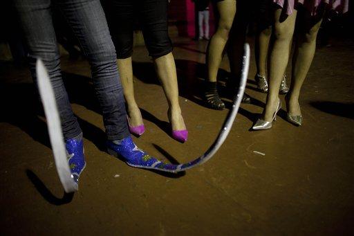 Mexican elf boots