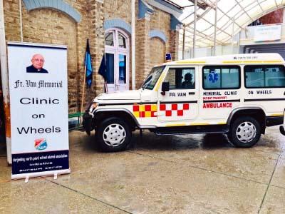 Clinic on Wheels - free treatment flags off in Darjeeling