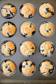 These light and tender blueberry buttermilk muffins are the perfect way to start the day!