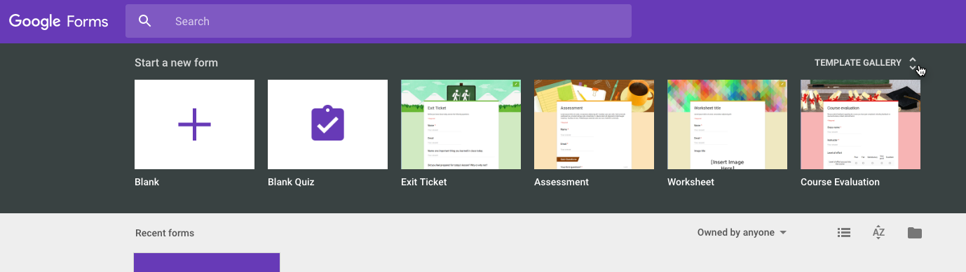 Templates In Google Forms Yes Please Chris Malanga - Google forms templates