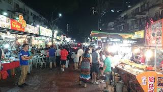 Jalan Alor Food Street Bukit Bintang Kuala Lumpur
