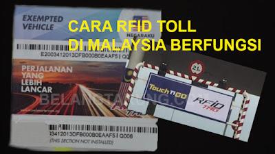 RFID Tag Toll Malaysia
