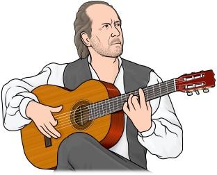 フラメンコ ギター (flamenco guitar)