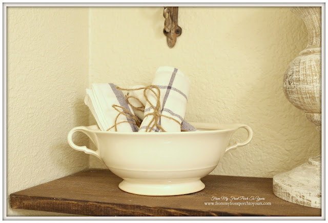 Farmhouse-Half Bathroom-Vintage-ironstone-From My Front Porch To Yours