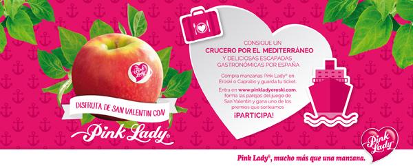 Consigue un crucero por el mediterráneo con las manzanas Pink Lady