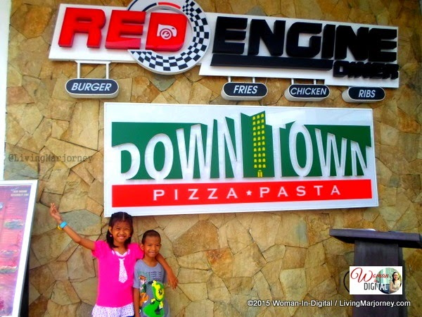 Downtown Pizza and Red Engine Diner