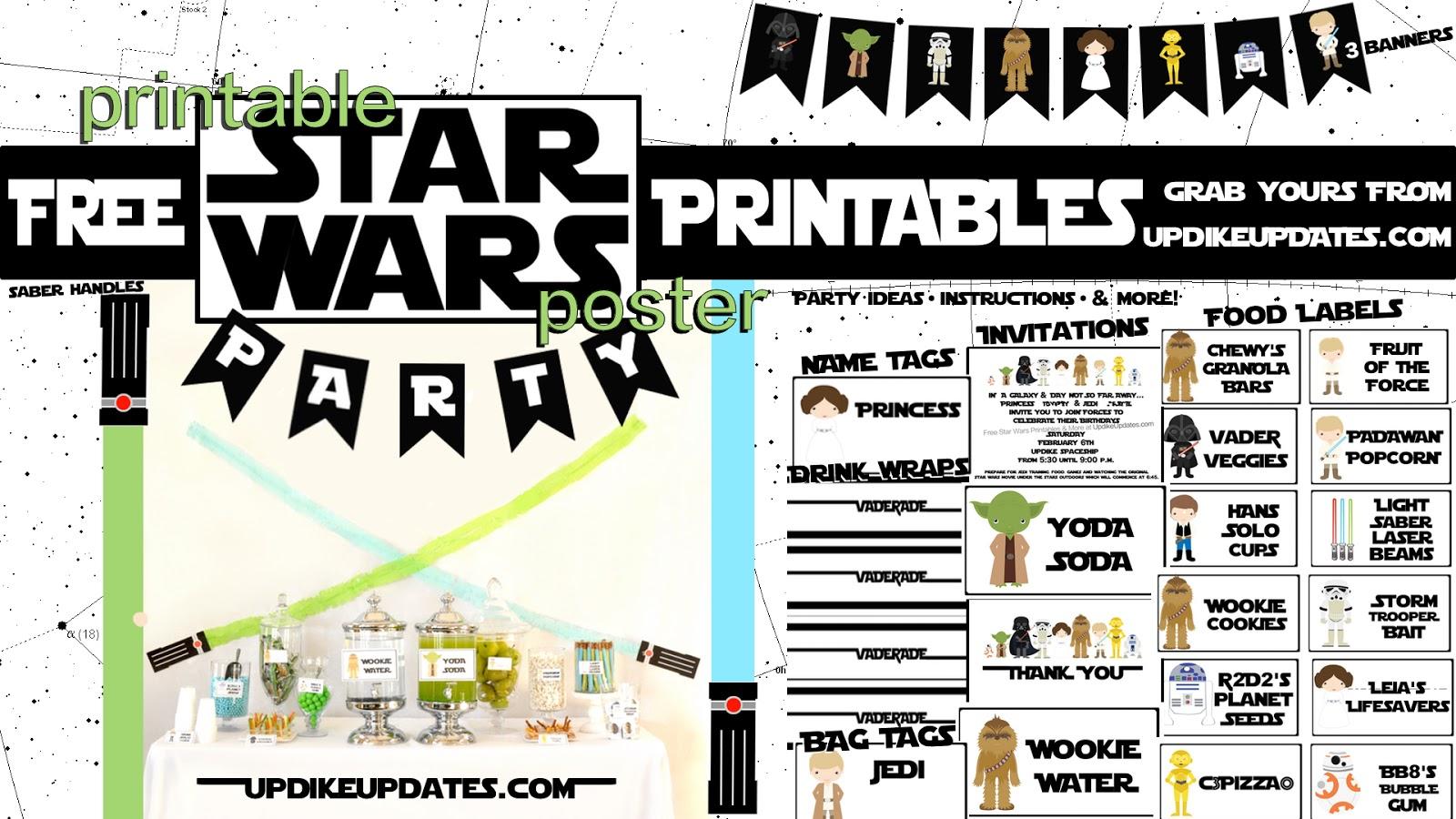 Updikeupdates One Stop Star Wars Party Shop