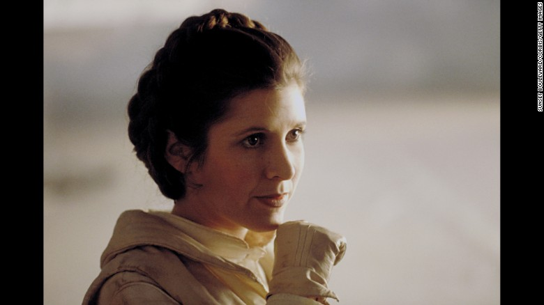 Carrie Fisher, 'Star Wars'' Princess Leia, dies at 60