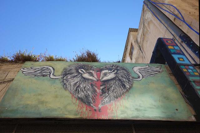 Street Art - Jerusalem - Nouvelle ville