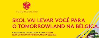 Promoção Skol Tomorrowland 2017