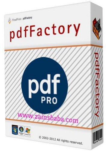 PDF Factory Pro 6.20 Multilingual – 2017