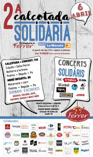 2ª Calçotada Solidària de Conserver Ferrer