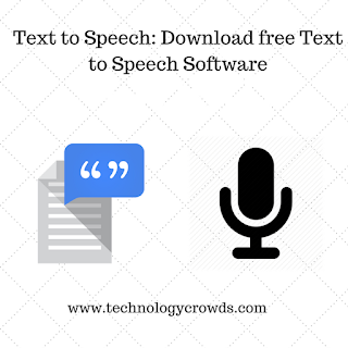 Text to Speech: Download free Text to Speech Software