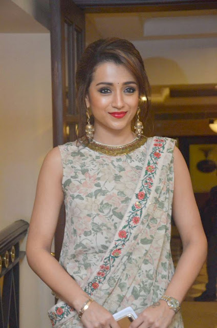 Trisha Stills At UNICEF Celebrity Advocate Press Meet