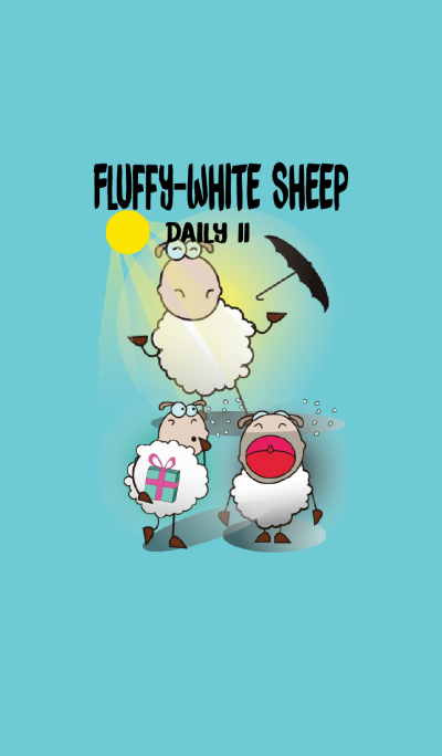 Very Funny and Fluffy-white Sheep Vol II