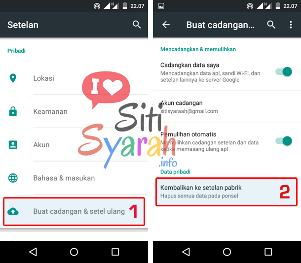 solusi aplikasi android force close